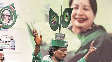 The history of AIADMK's two leaves: from goat lungs to Jayalalithaa's double magnificence