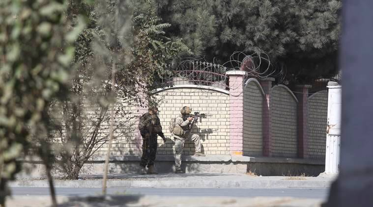 Image result for Kabul: At least two killed as Islamic State claims attack on TV station