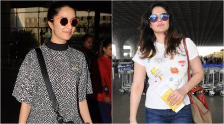 Shraddha Kapoor and Zarine Khan show how to be comfy and casual at the airport