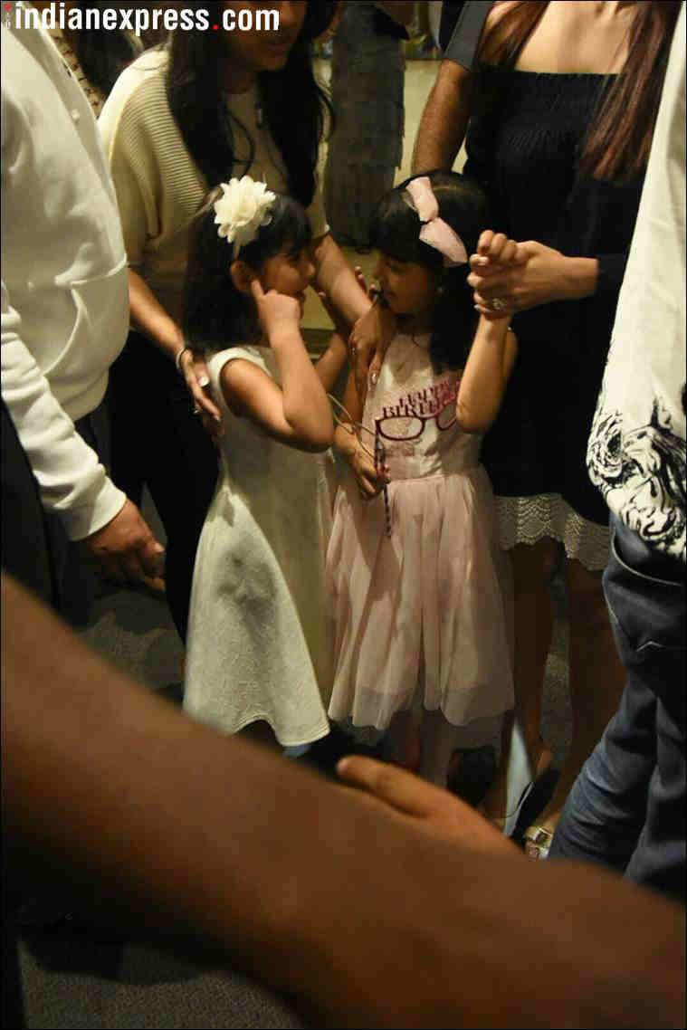 aaradhya bachchan at her birthday party