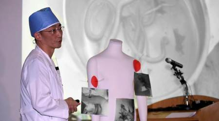 Surgeons remove worms, parasites from North Korean soldier