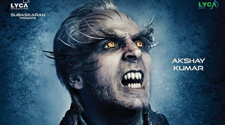 2.0 poster Akshay Kumar's intense look has got us all intrigued about his role