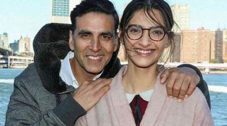 Photos: Akshay Kumar, Sonam Kapoor bond in New York as they shoot for Padman