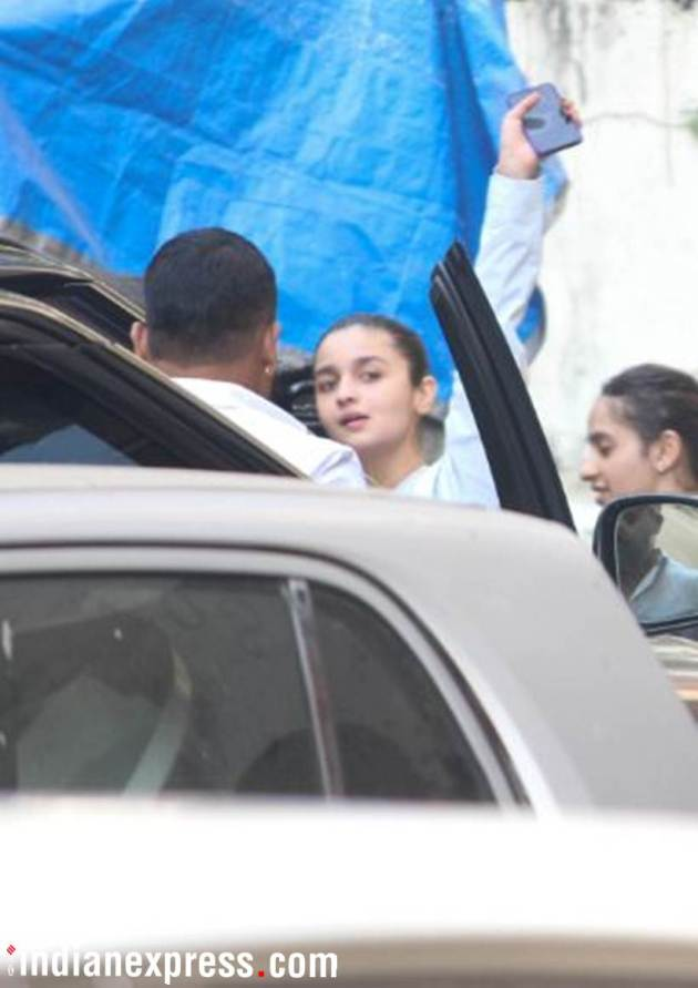alia bhatt at the gym