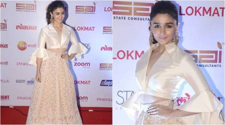 Alia Bhatt's outfit is a beautiful blend of traditional and modern fashion