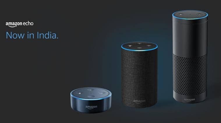 Amazon Echo models in India