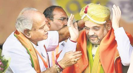 Amit Shah flags off BS Yeddyurappa's yatra in Karnataka, says, 'Congress govt broke all corruption records'