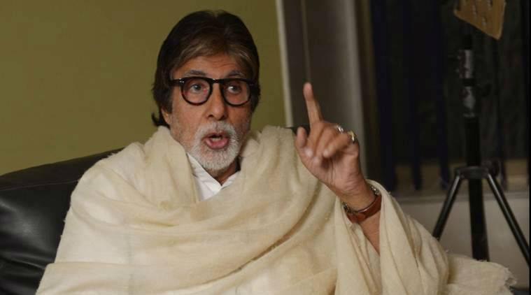 Amitabh Bachchan denies reports of car accident