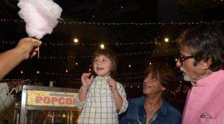 When AbRam thought Amitabh Bachchan was Shah Rukh Khan's father, see photos