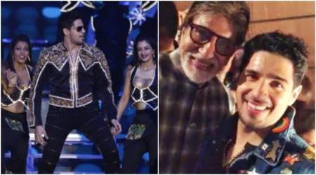 Sidharth Malhotra pays tribute to Amitabh Bachchan at IFFI 2017, leaves the latter impressed