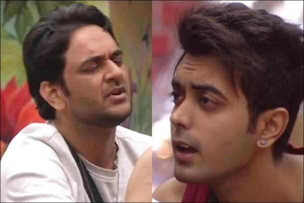 vikas gupta, luv tyagi, vikas luv fight, vikas gupta images, bigg boss 11 latest episode images