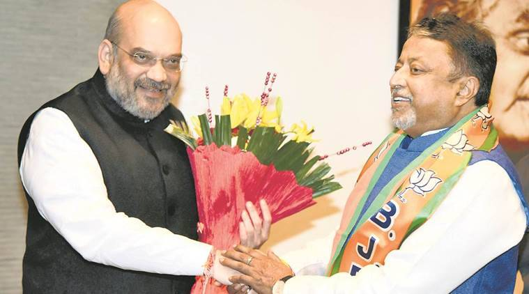 Mukul roy, Mamata Banerjee, Mukul roy joins bjp, amit shah, trinamool congress, indian express, india news
