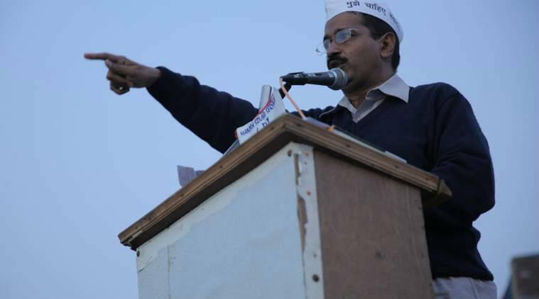Arvind Kejriwal in An Insignificant Man