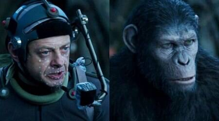 Andy Serkis was 'cautious' of being too human in Planet of theApes