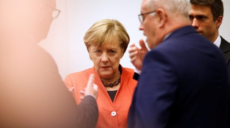 Germany crisis: Chancellor Angela Merkel faces pressure for quick coalition talks