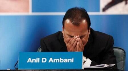 What is the Ericsson's case against Anil Ambani, RCom