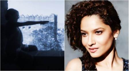 Ankita Lokhande shares her look from the sets of Kangana Ranaut starrer Manikarnika