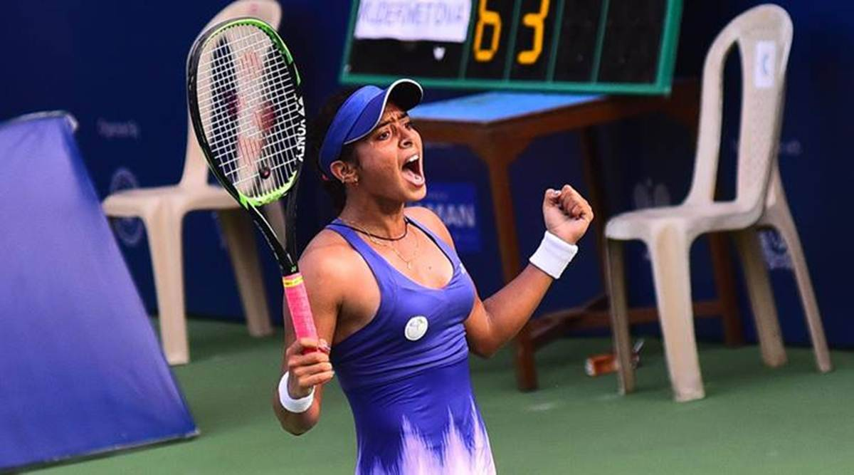 Ankita Raina wins maiden WTA title, to become first Indian woman player in top 100 after Sania Mirza - The Indian Express