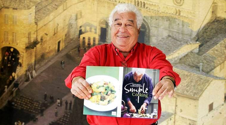 Antonio carluccio the godfather of italian cooking dies for Age cuisine express