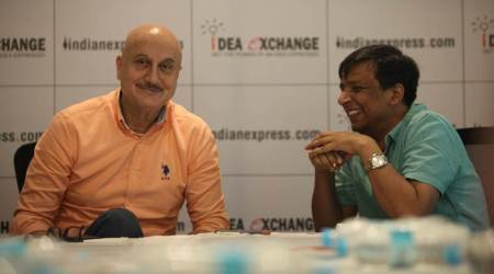 Anupam Kher, FTII, Film and television institute of India, FTII students, FTII chairman, Gajendra Chauhan, Article 370, Anupam kher FTII, India news, Indian express news, idea exchange news