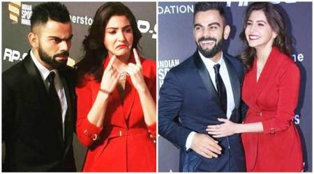 Anushka Sharma and Virat Kohli's photos from inside Indian Sports Honours to the Indian cricket team captain's new Instagram profile picture