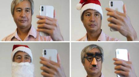 Apple iPhone X, Face ID recognition software, Face ID smartphone security, artificial intelligence, 3D-printed masks, human face, Face ID 3D scanning, Toshiba Lenovo, Asus, IR dots, TrueDepth camera, A11 bionic chip