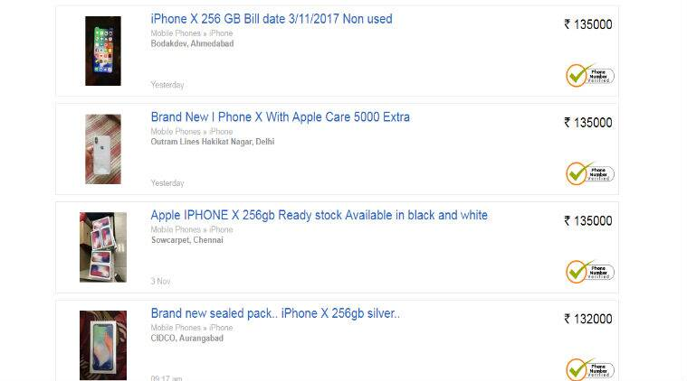 Apple Iphone X Is Already Sold Out Selling For Rs 15 Lakh On Olx