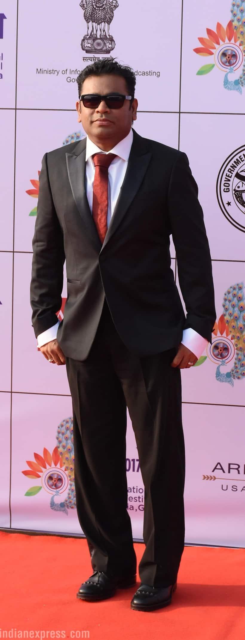 AR Rahman also graced the event.