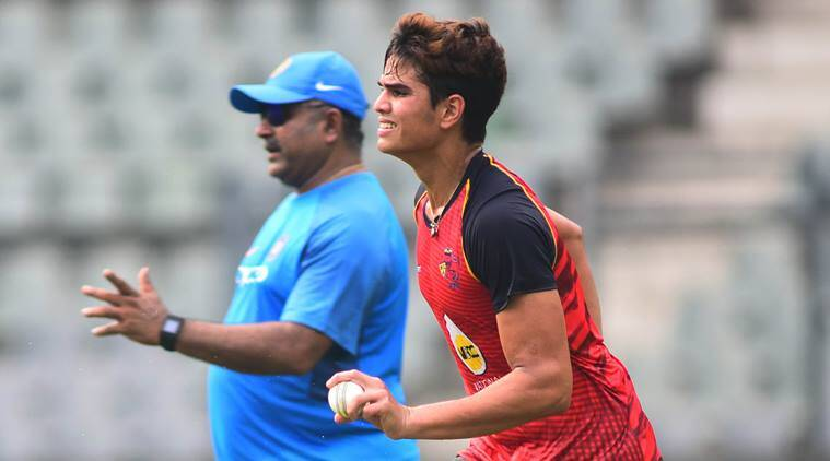 arjun tendulkar, sachin tenulkar, sachin tendulkar son, arjun tendulkar news, tendulkar news, india vs sri lanka news, india u19 cricket team, cricket news, cricket