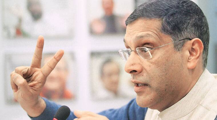 arvind subramanian on gst, GST rates, india inflation, indian economy