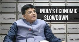 Piyush Goyal Talks About India's Economic Slowdown