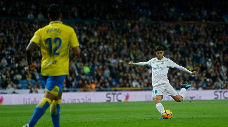Asensio happy with 'great goal' for Real Madrid