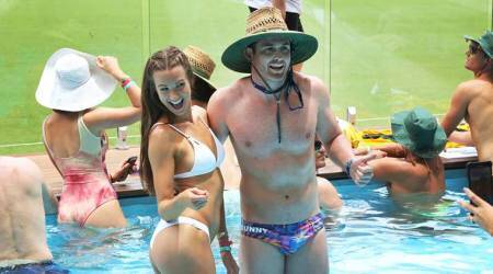 Ashes 2017: Besides quality cricket, a pitchside pool, wacky swimsuits and marriage proposals at the Gabba