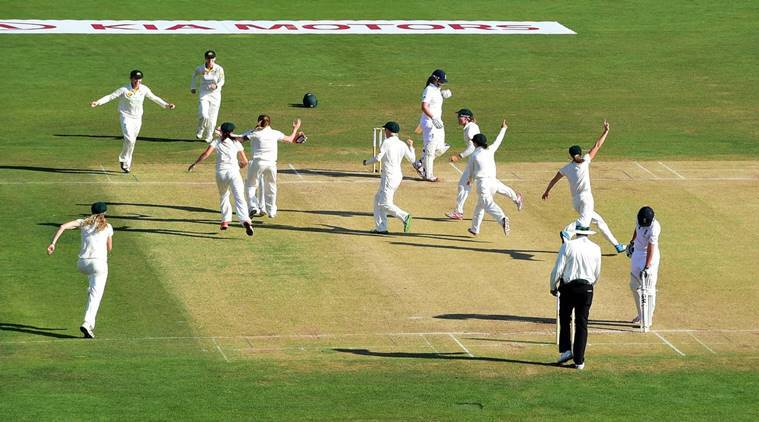 The first test between England Women and Australia Women ended in a draw.