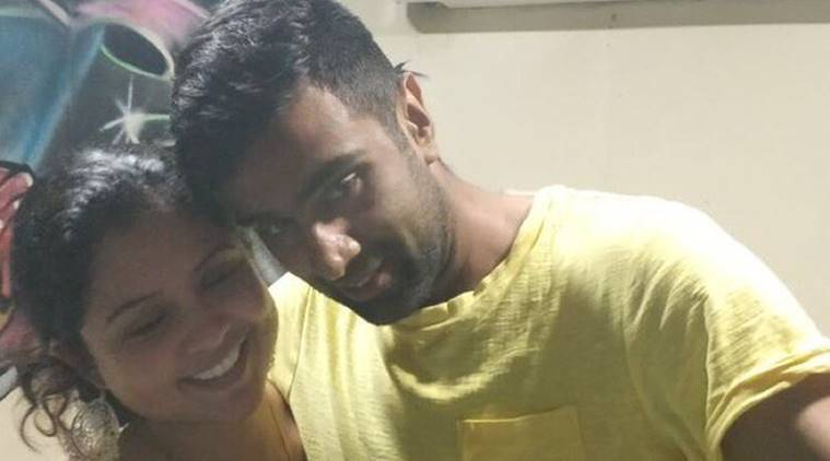 ravichandran ashwin, ashwin, ashwin wife, prithi ashwin, ashwin anniversary, cricket, sports news, indian express