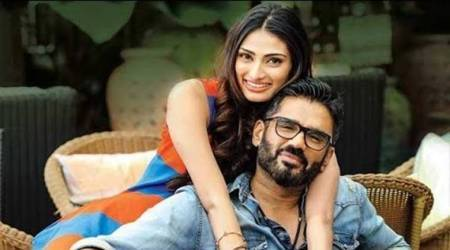 Sunil Shetty has the sweetest birthday wish for daughter Athiya Shetty