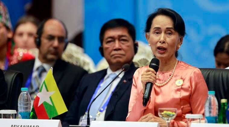 Aung San Suu Kyi blames conflicts on illegal immigration