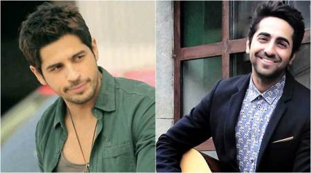 Exclusive: Ayushmann Khurrana replaces Sidharth Malhotra in an upcoming quirky comedy