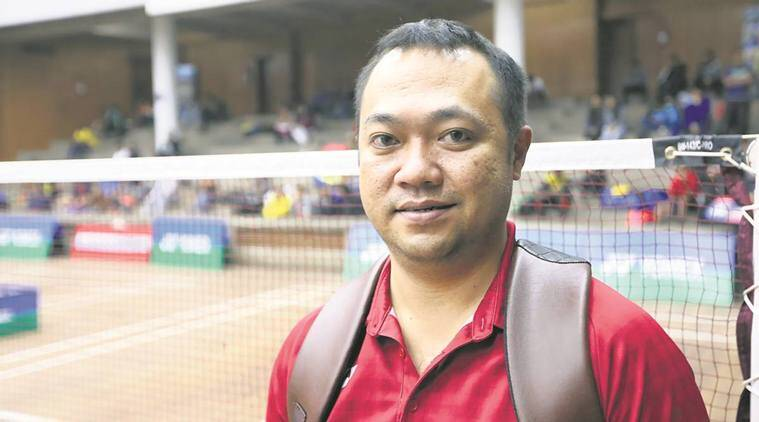 Edwin Iriawan at the Smt. Krishna Khaitan Memorial All India Junior Ranking Tournament