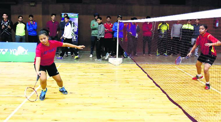 Maini Boruah, Maini Boruah vs Janavi Sudhir, Khaitan badminton tournament