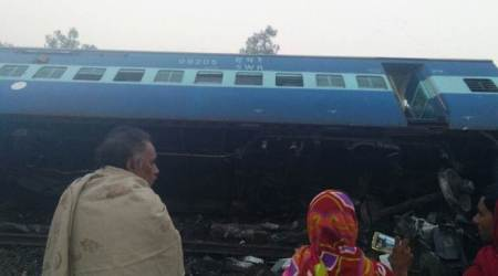 Vasco da Gama-Patna Express accident live updates: Train derails near UP's Banda, at least 2 dead
