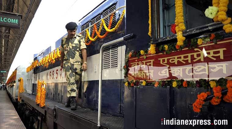 bandhan express, kolkata khulna train, narendra modi, india bangladesh train,