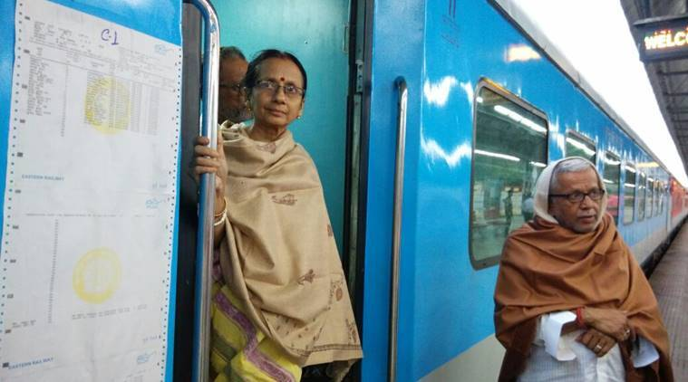 Kolkata Khulna Bandhan Express makes its first official journey