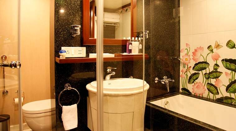 chandigarh, bathroom tender, vip bathroom suites, cvc guidelines, chandigarh ut guesthouse, indian express