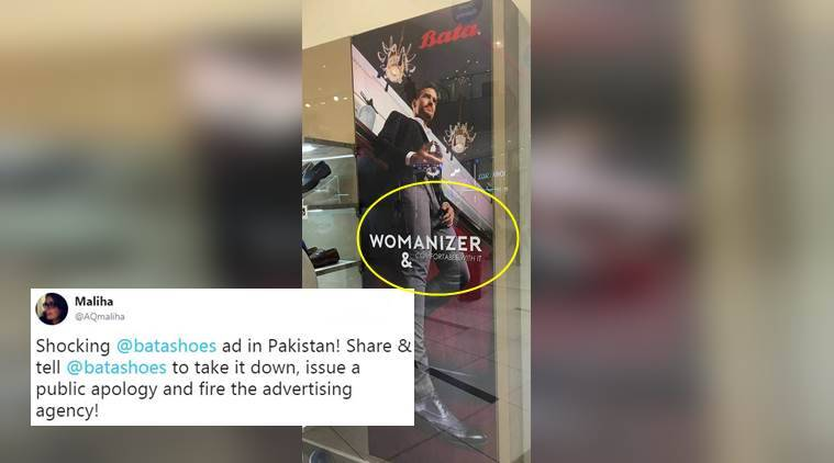 bata, bata sexist ad, bata sexist ad in pakistan, sexist advertisements, bata sexist advertisements in pakistan, twitter reactions, indian express, indian express news
