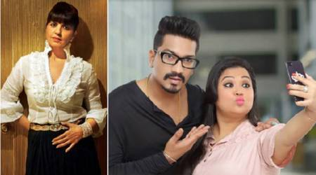Bharti Singh is 'in shock' that Neeta Lulla is designing her wedding outfit. Find outwhy