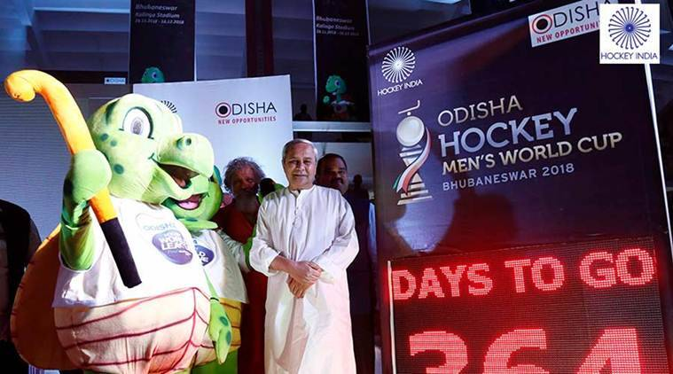 Hockey Men's World Cup 2018, Hockey Men's World Cup 2018 schedule, Naveen Patnaik, Naveen Patnaik Odisha CM, sports news, hockey, Indian Express