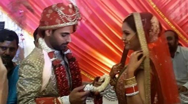 Bhuvneshwar Kumar ties knot with Nupur Nagar in grand ceremony in Meerut