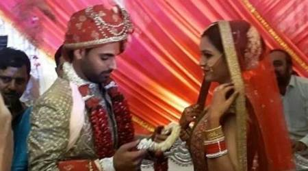 Bhuvneshwar Kumar ties knot with Nupur Nagar in Meerut, watch video