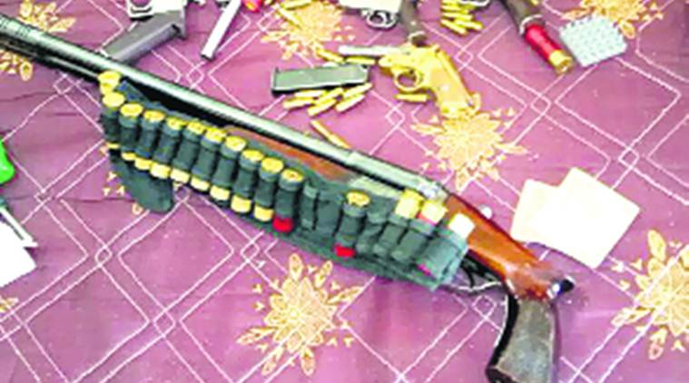 Bindapur: Huge cache of arms recovered, Delhi police probe